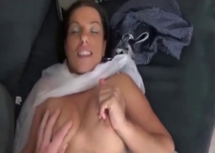 Toned MILF fucked by her horny son