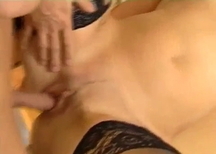 Redheaded MILF fucks the both of her sons