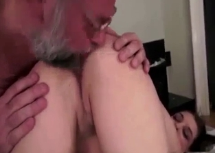 Happy daughter/dad duo end up fucking
