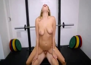 Sensual incest fucking with a gym-going hottie